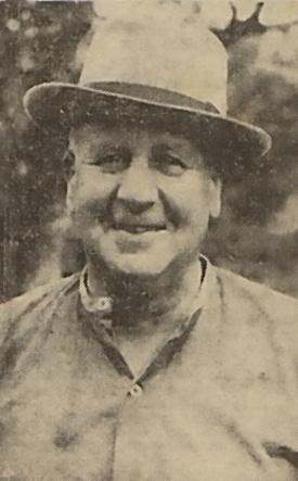 Albert E. Browne as a civilian
