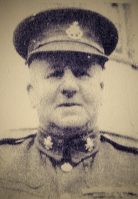 Sergeant-Major Albert E. Browne in uniform