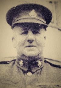 Sergeant-Major Albert E. Browne in uniform