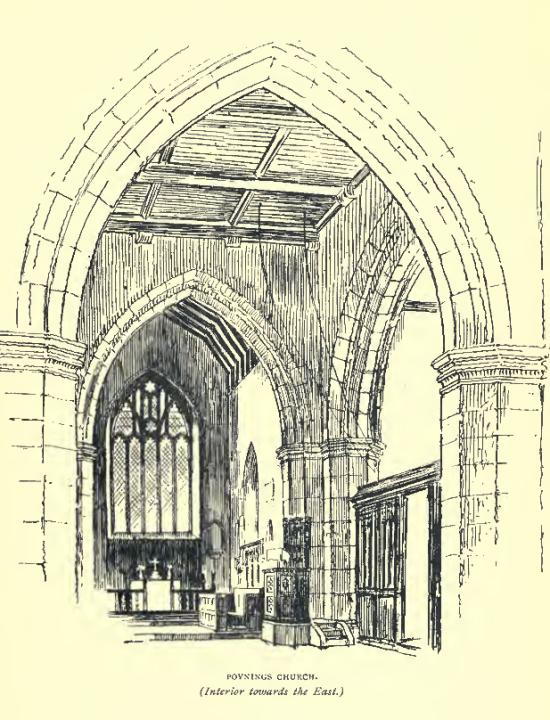 Poynings Church interior