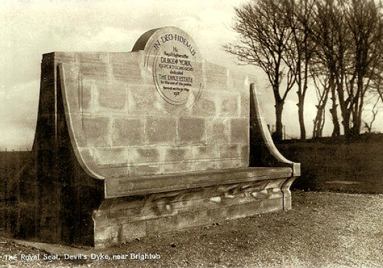 The Royal Seat c1930