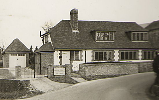 The replacement cottage immediately after completion in 1957