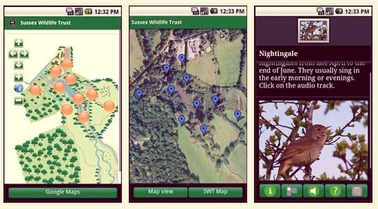 Woods Mill app