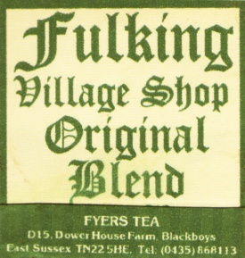 Fulking Village Shop Original Blend Fyers Tea