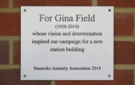 Hassocks Station Gina Field 1938 2010