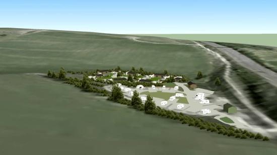 Horsdean traveller site