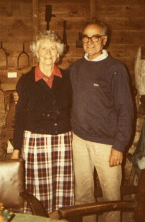 Peggy and John Durrant in 1985