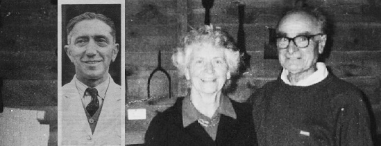 Percy Lucas (village shop), Peggy and John Durrant (Old THatch)