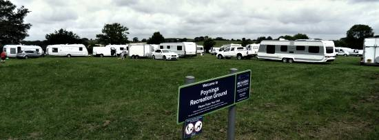 Poynings Recreation Ground infestation