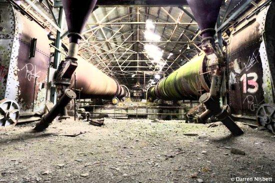 Shoreham Cement Works interior by Darren Nisbett