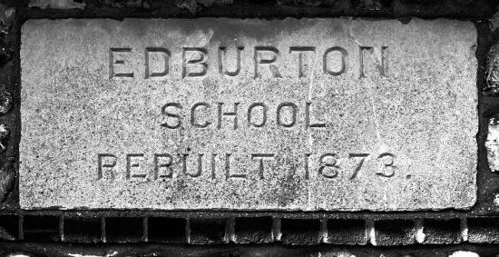 Edburton School Rebuilt 1873