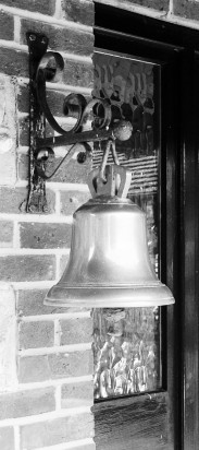 The original Edburton School bell