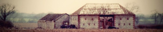 Lower Edburton Barn in the late 1980s