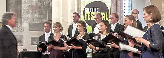 The Sixteen at Steyning Festival 2014