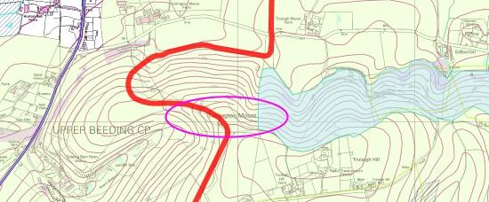 Tottington Mount versus the Rampion trench