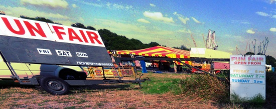 Funfair on Henfield Common
