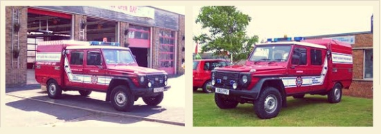 West Sussex Fire and Rescue 4x4