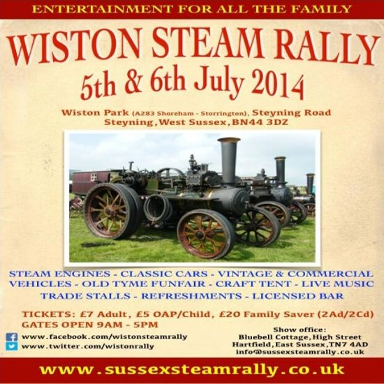 Wiston Steam Rally 2014