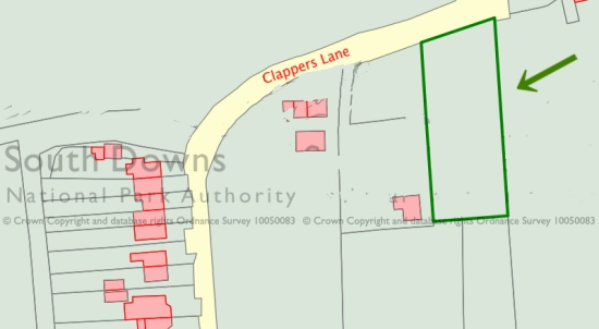 Additional Clappers Lane traveller site