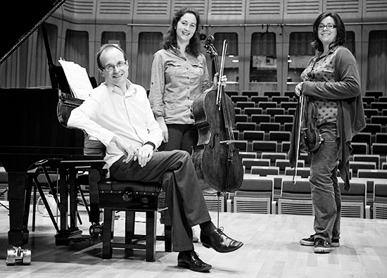 Gould Piano Trio play in Steyning