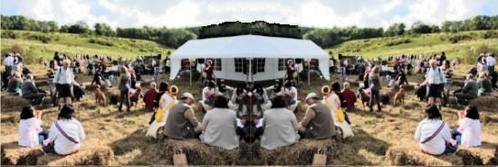 Steyning Downland Scheme picnic