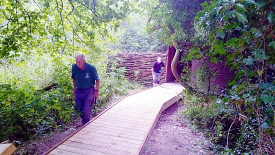 The Woods Mill bird hide has reopened