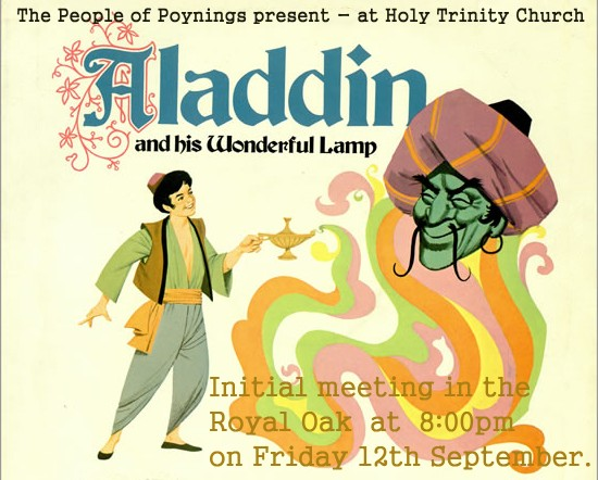 Aladdin and his Wonderful Lamp initial meeting