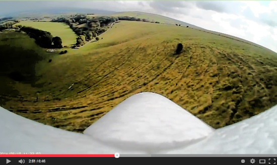 Wolstonbury Hill Dream-flight Libelle DLG Slope soaring