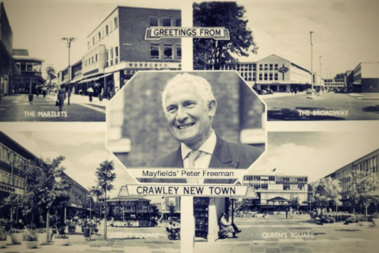Greetings from Crawley New Town
