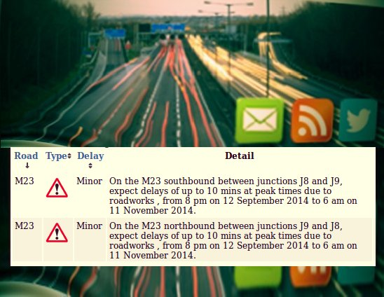 M23 delays until mid-November