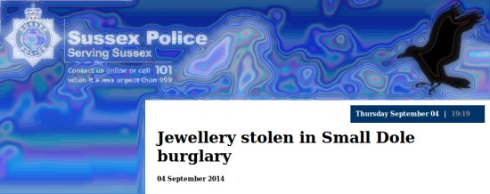 Small Dole burglary update