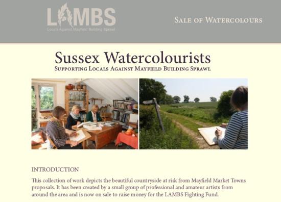 Buy art, support LAMBS