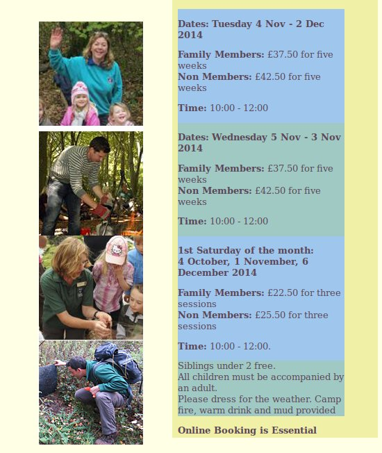 Winter Nature Tots at Woods Mill
