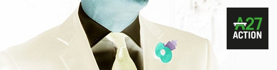 David Cameron neck tie poppy