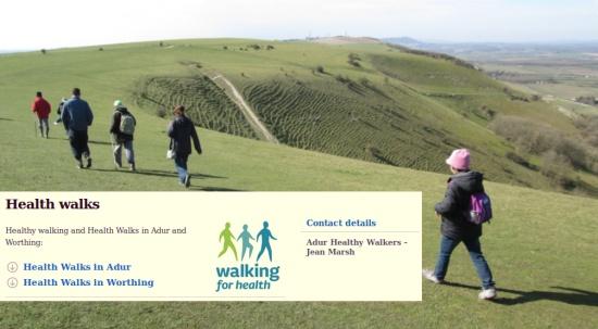 Health Walks in Adur