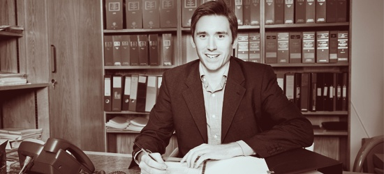 Richard Turney the barrister for LAMBS
