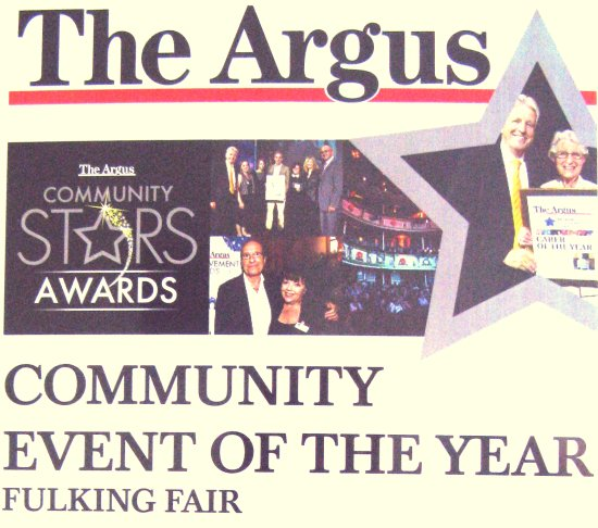 The Argus Community Event of the Year 2014 Fulking Fair