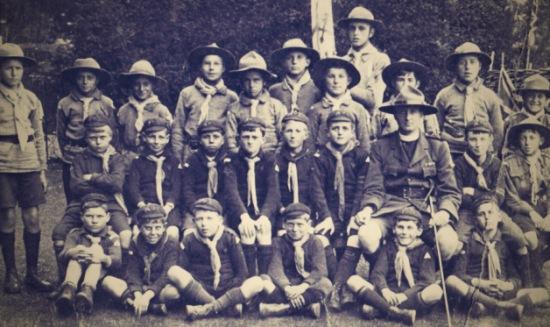 Upper Beeding Boy Scouts 1916