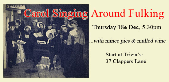 Carol Singing 18th Dec - Carollers from 1951