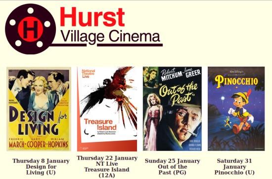 Hurst Village Cinema January 2014