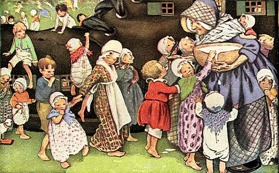 Jessie_Willcox_Smith_1912_There_was_an_old_woman_who_lived_in_a_shoe