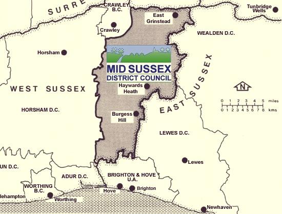 MSDC Location Map