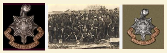 The Royal Sussex Regiment in WWI