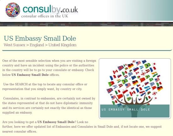 US Embassy Small Dole