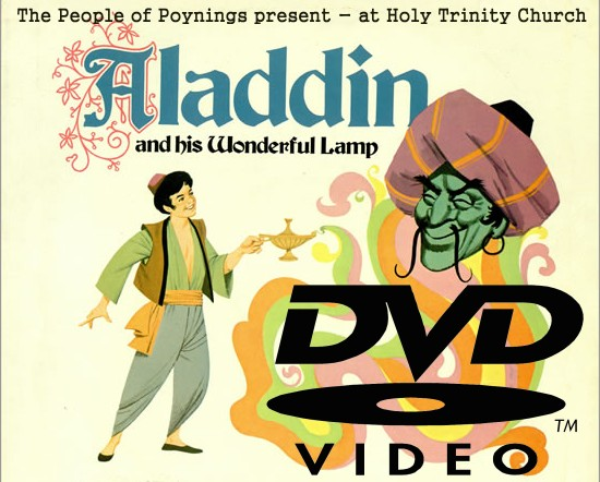 Aladdin and his Wonderful Lamp DVD Poynings