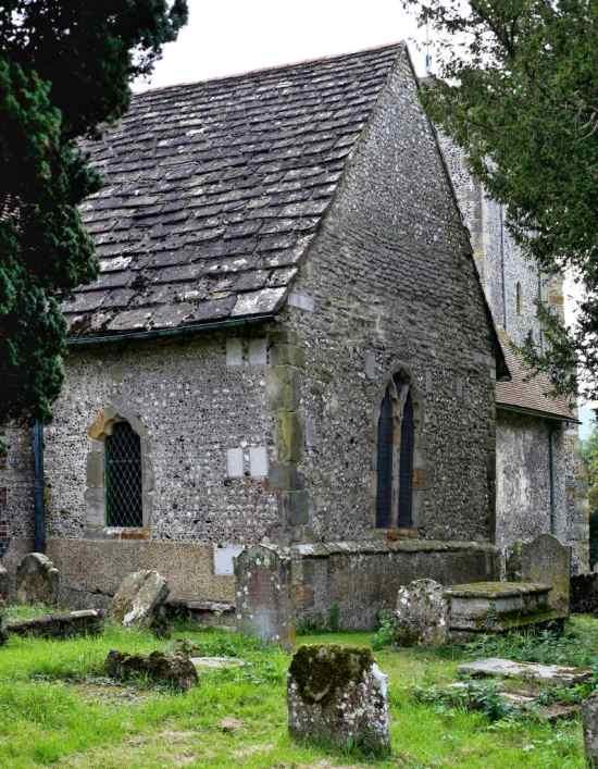 St. Andrew's Edburton Chapel exterior