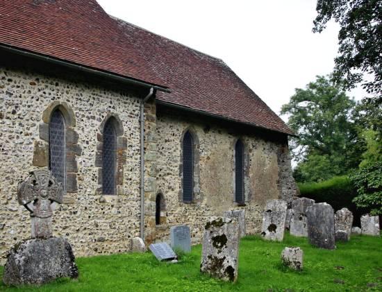 St. Andrew's Edburton Nave chancel exterior