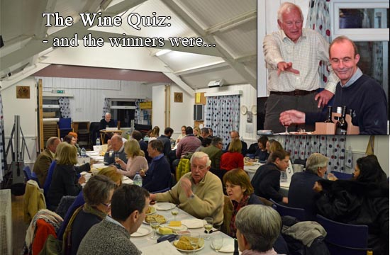 Wine Quiz Winners