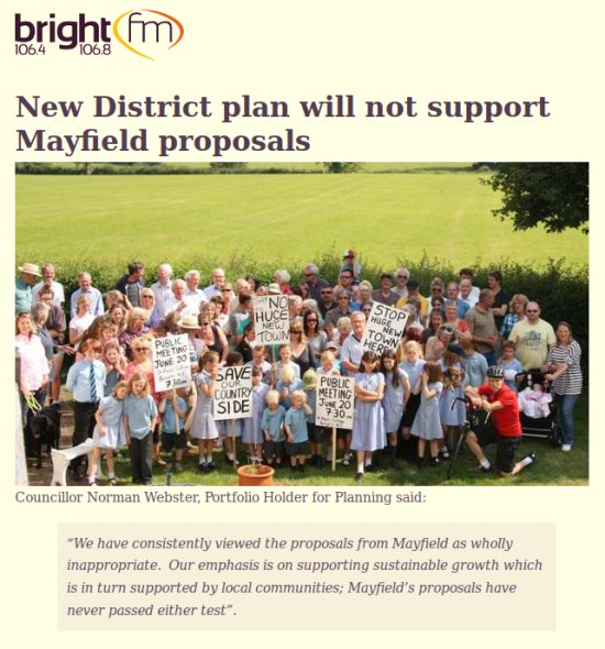 Bright FM Mid Sussex minus Mayfield