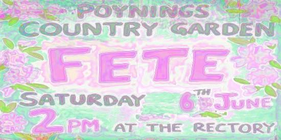 Poynings Fete 2015